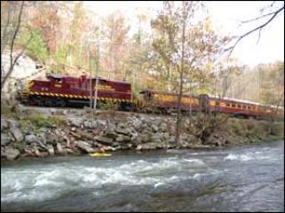 We can reserve your Great Smoky Mountain Scenic Train Tours call: 800-468-7238
