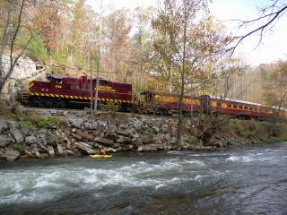 We can reserve Great Smoky Mountain Train Tours