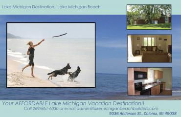 Lake Michigan Beach Vacation Rental